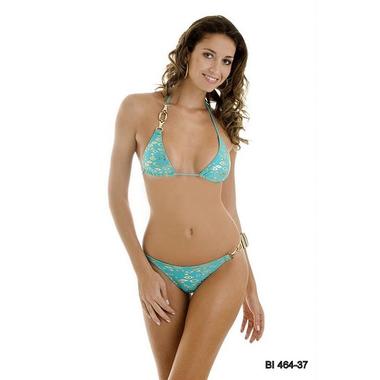 blue bikini