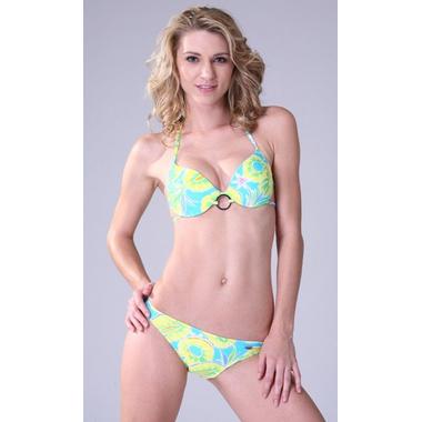Pineapple Print Bikini