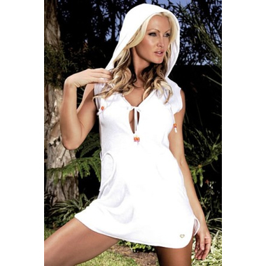 hooded towel dress