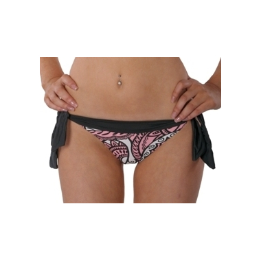 Venetian Tie Banded Hipster bikini