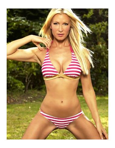 Pink Nautical Bikini
