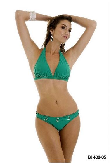 Ruched Triangle Bikini