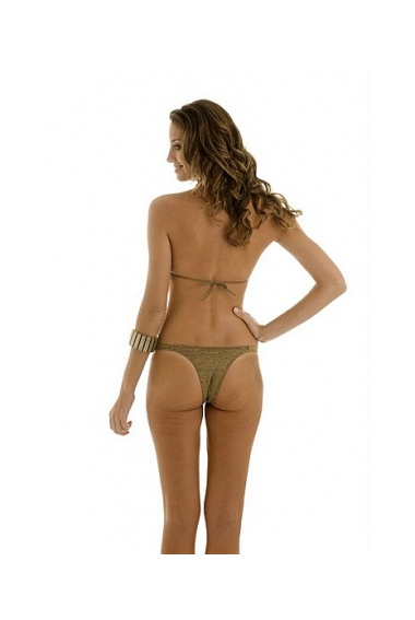 gold bar bikini back