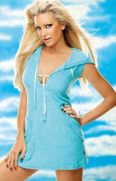 Aloe Towel hooded Dress