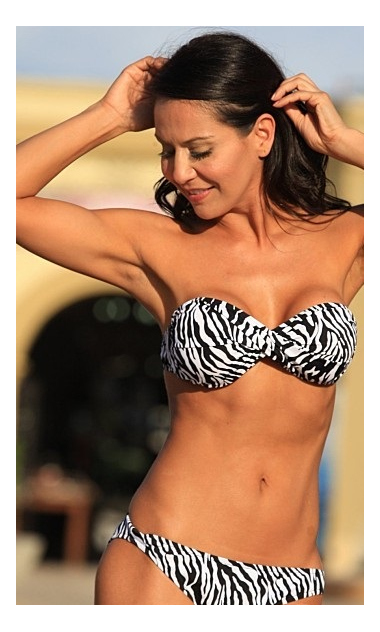 Zebra Print Bikini