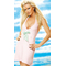 Pink Halter Towel Dress By Caprice