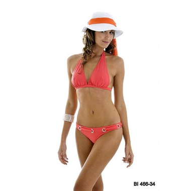 Ruched Triangle Bikini