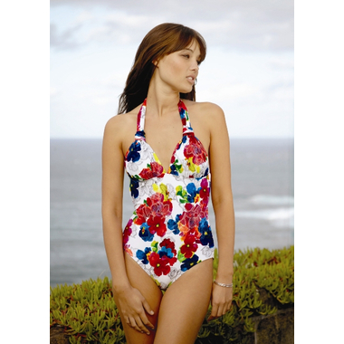 Monet D/DD Floral Print Swimsuit