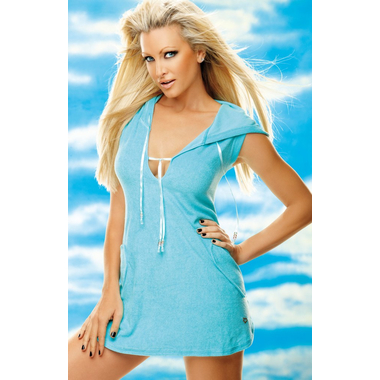 Aloe Towel hooded Dress