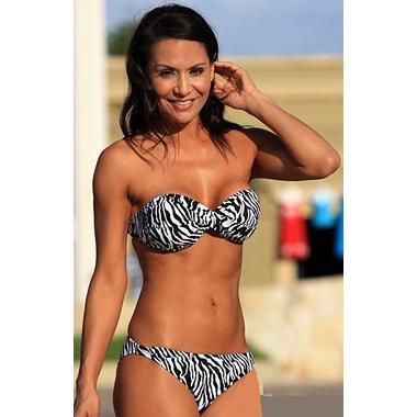 Zebra Bandeau Bikini