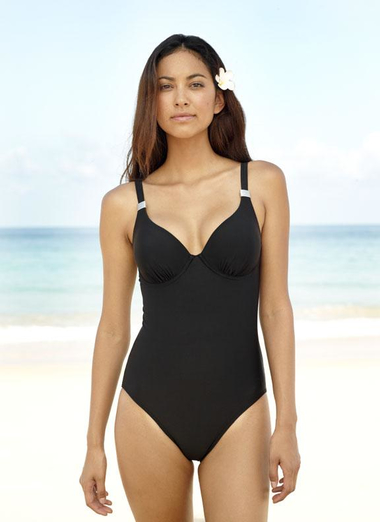 Black Slimming Swimsuit