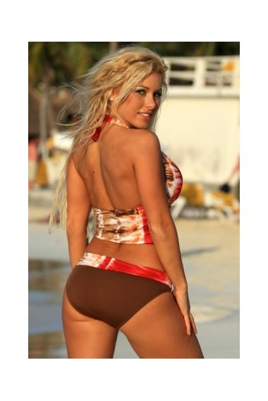 lava lava banded bikini back