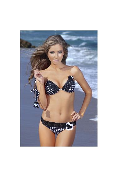 Heart Print Bikini