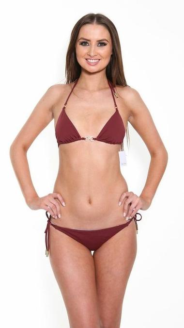 Maroon Bikini