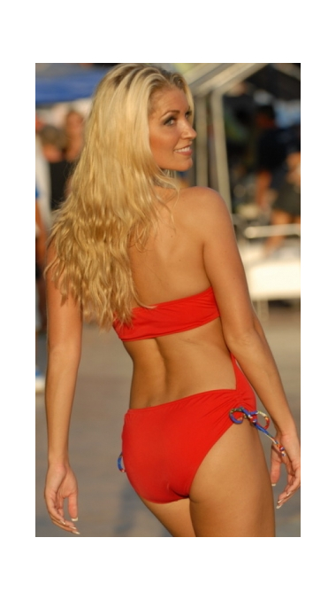 Ruby Red Slider Swimsuit