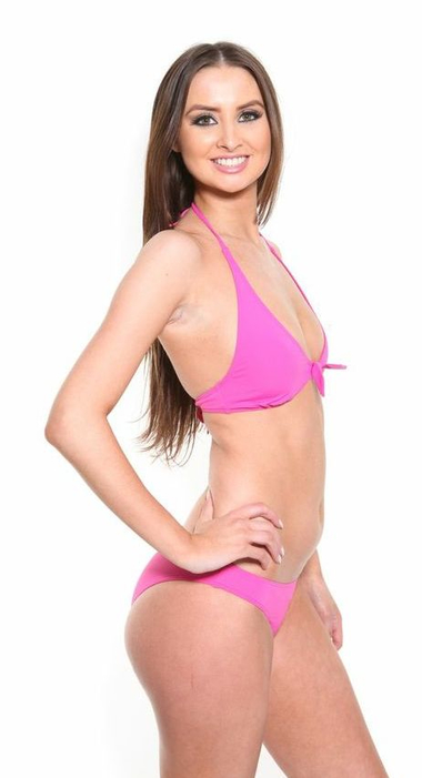 CK Pink Bikini