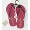 Pink Calvin Klein Flip Flops